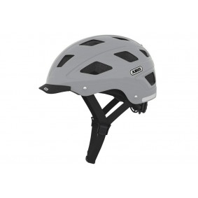Fietsaccessoires - Fietskleding - Helmen - Veiligheid -  kopen - Abus Hyban Helm Concrete Grey