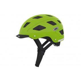 Fietsaccessoires - Fietskleding - Helmen - Veiligheid -  kopen - Abus Hyban Helm Groen