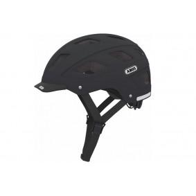 Fietsaccessoires - Fietskleding - Helmen - Veiligheid -  kopen - Abus Hyban Helm Velvet Black