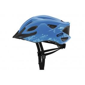 Fietsaccessoires - Fietskleding - Helmen - Veiligheid -  kopen - Abus Hyban S-Cension Diamond Helm – Blauw