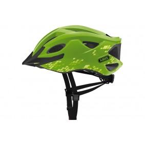 Fietsaccessoires - Fietskleding - Helmen - Veiligheid -  kopen - Abus Hyban S-Cension Diamond Helm – Groen