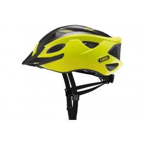Fietsaccessoires - Fietskleding - Helmen - Veiligheid -  kopen - Abus Hyban S-Cension Race Helm – Groen