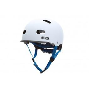 Fietsaccessoires - Fietskleding - Helmen - Veiligheid -  kopen - Abus Scraper Helm Polar Matt – Wit