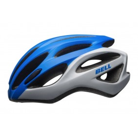 Fietsaccessoires - Fietskleding - Helmen - Veiligheid -  kopen - Bell Draft Helm – Blauw/Wit