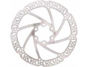 Fietsonderdelen - Remmen -  kopen - Btwin Remschijf fiets 160 mm Tektro 6 gaten