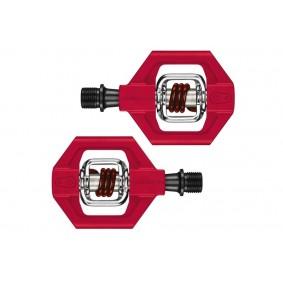 Fietsonderdelen - Overig - Pedalen -  kopen - Crank Brothers Candy 1 Pedalen – Rood