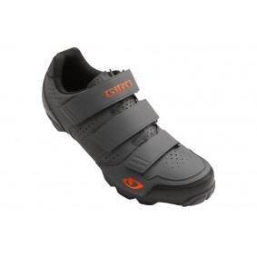 Fietskleding - Fietsschoenen -  kopen - Giro Carbide R Fietsschoenen – Grijs/Oranje
