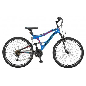 Fietsen - Mountainbikes -  kopen - Altec Albatros 26 inch Mountainbike – Blauw/Rood