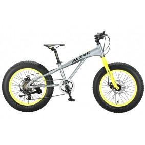Fietsen - Mountainbikes -  kopen - Fat Bike Allround 20 inch 2D Grijs Groen