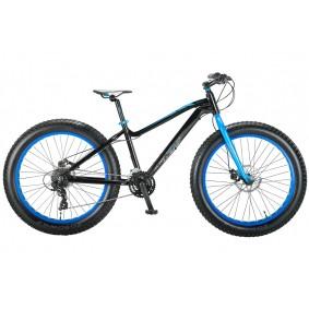 Fietsen - Mountainbikes -  kopen - Fat Bike Allround 26 inch 2D – Zwart/Blauw