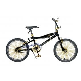 Crossfietsen - Fietsen -  kopen - Popal Warrior Mountainbike 20 inch – Goud