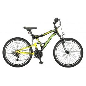 Fietsen - Mountainbikes -  kopen - Umit Albatros 24 inch Mountainbike – Geel/Zwart