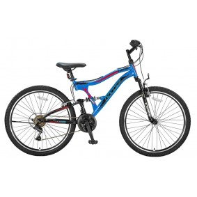 Fietsen - Mountainbikes -  kopen - Umit Albatros 24 inch Mountainbike – Rood/Blauw