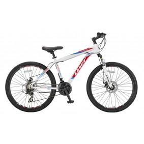 Fietsen - Mountainbikes -  kopen - Umit Arcus 26 inch Mountainbike – Wit/Rood