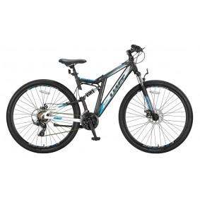 Fietsen - Mountainbikes -  kopen - Umit Kratos 29 inch Mountainbike – Zwart/Blauw